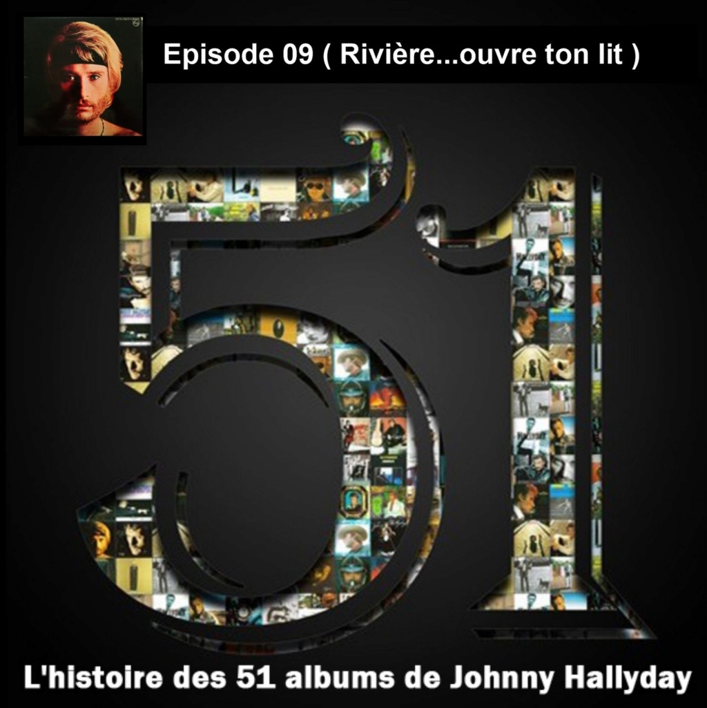 Pochettes CD Recto/Verso des 51 albums de Johnny en Podcast 2019_l38