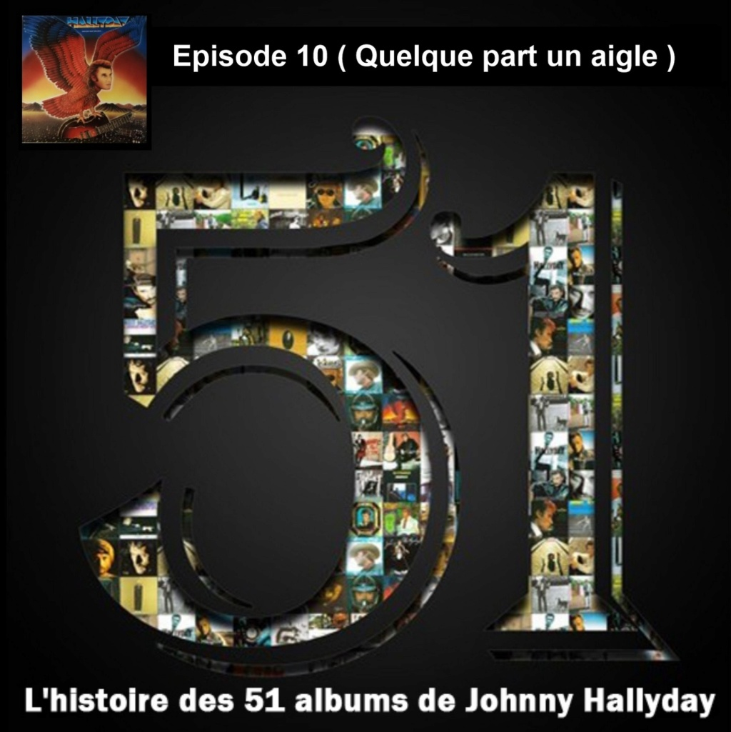 Pochettes CD Recto/Verso des 51 albums de Johnny en Podcast 2019_l40