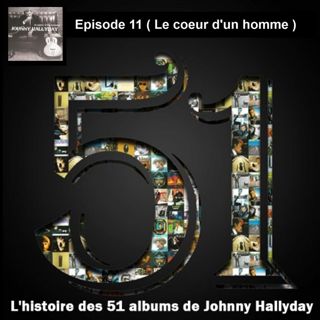 Pochettes CD Recto/Verso des 51 albums de Johnny en Podcast 2019_l42