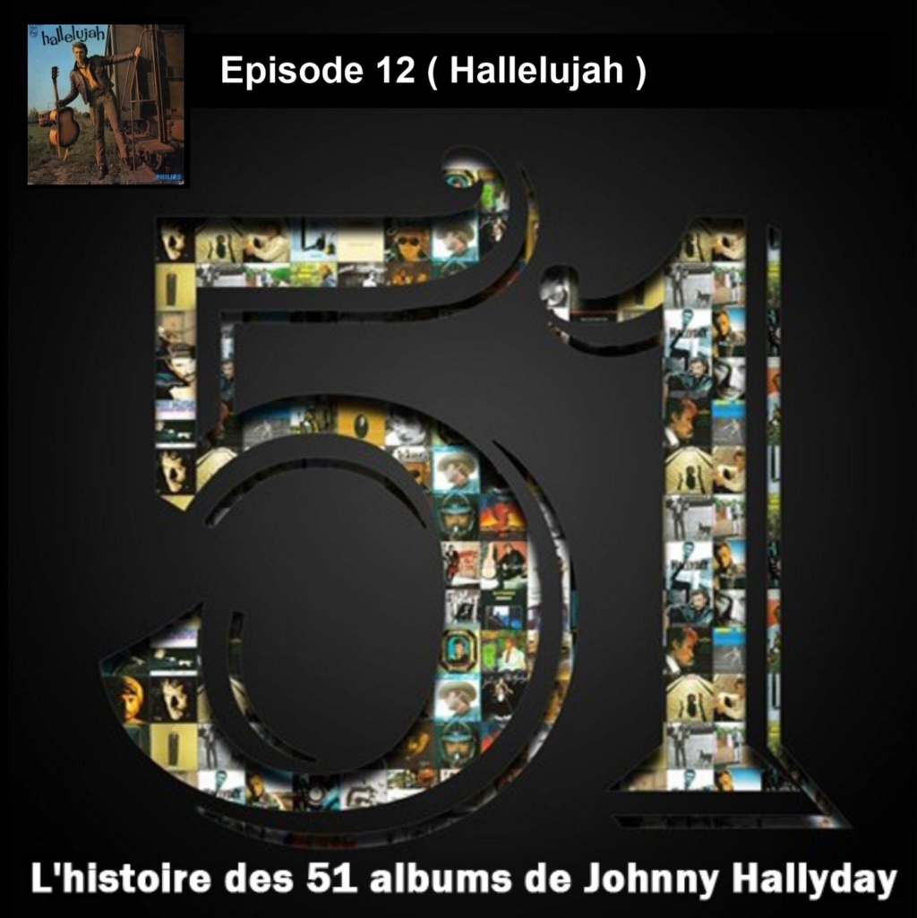 Pochettes CD Recto/Verso des 51 albums de Johnny en Podcast 2019_l44
