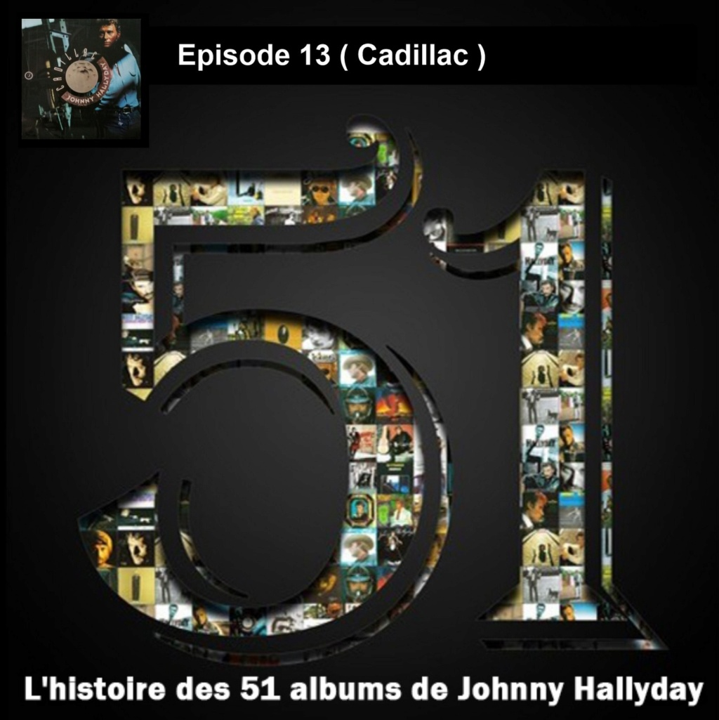 Pochettes CD Recto/Verso des 51 albums de Johnny en Podcast 2019_l46