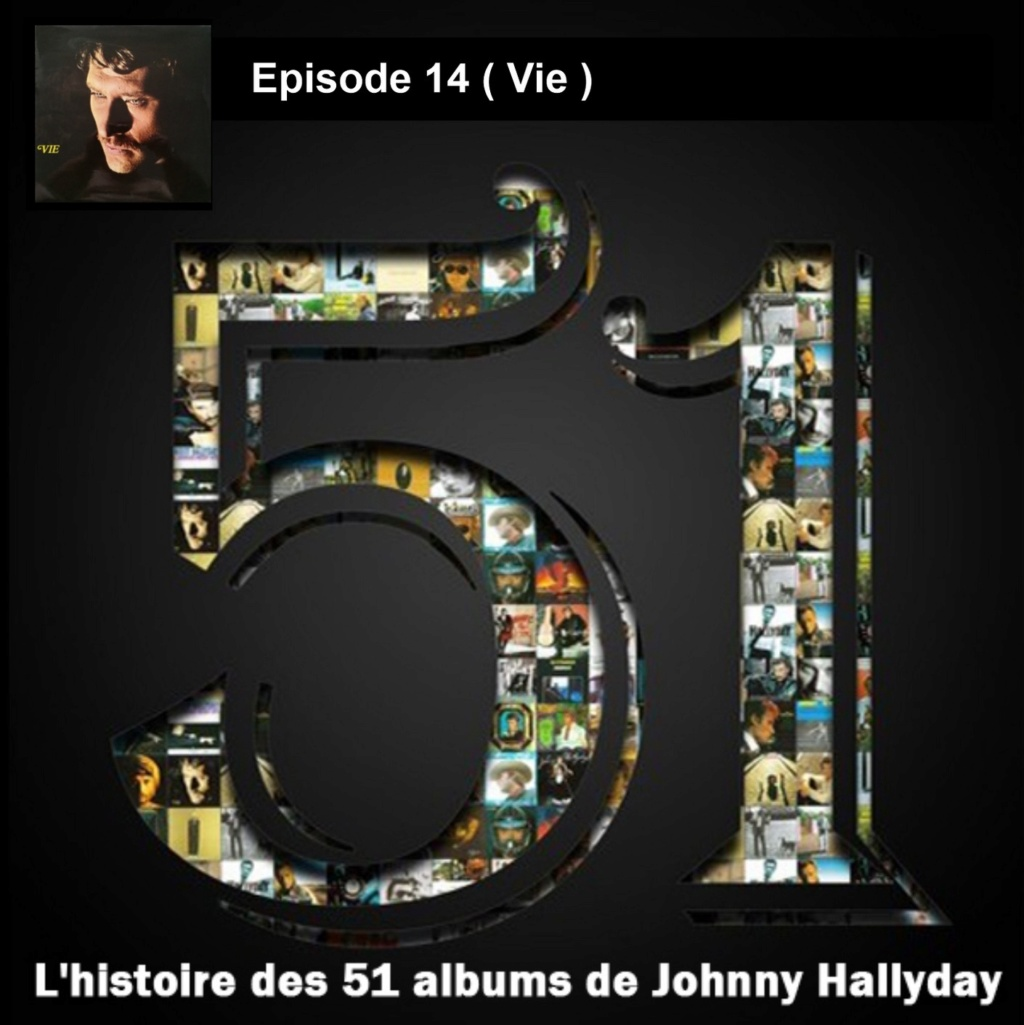 Pochettes CD Recto/Verso des 51 albums de Johnny en Podcast 2019_l48