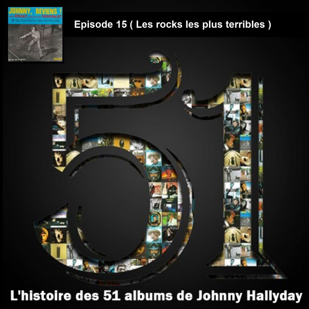Pochettes CD Recto/Verso des 51 albums de Johnny en Podcast 2019_l50