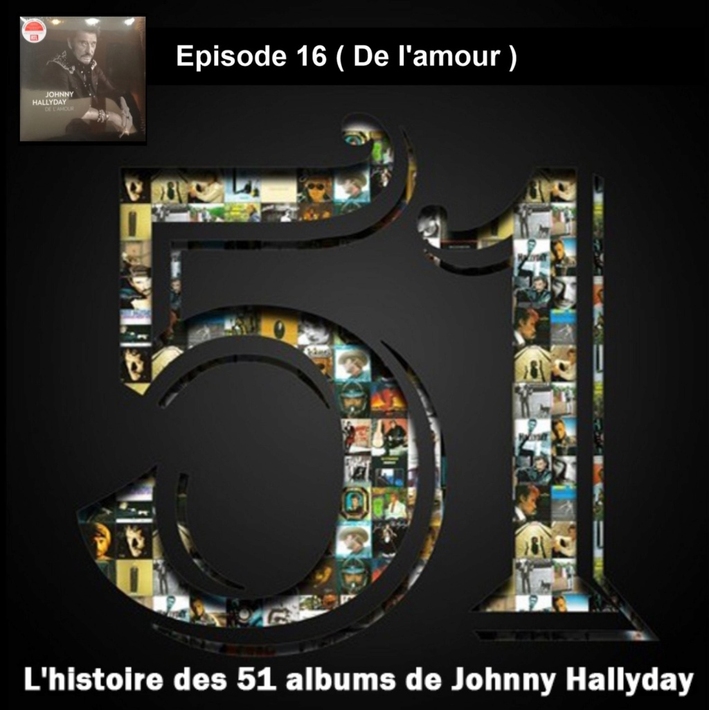 Pochettes CD Recto/Verso des 51 albums de Johnny en Podcast 2019_l52