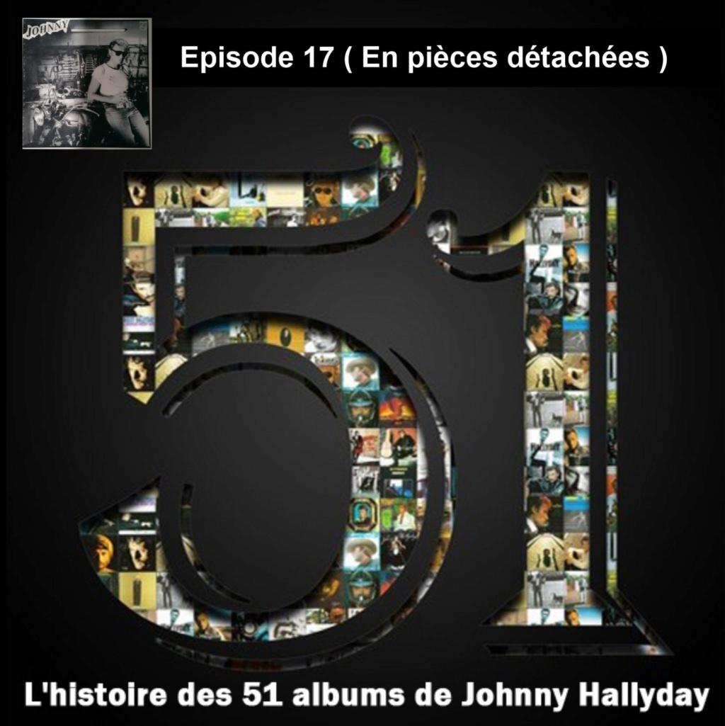 Pochettes CD Recto/Verso des 51 albums de Johnny en Podcast 2019_l54