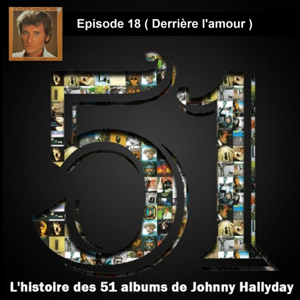 Pochettes CD Recto/Verso des 51 albums de Johnny en Podcast 2019_l56