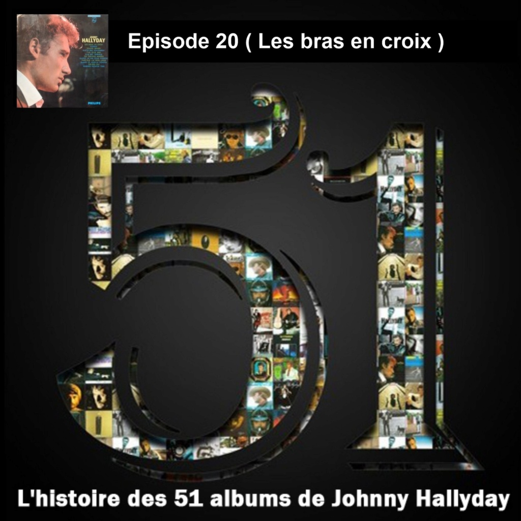 Pochettes CD Recto/Verso des 51 albums de Johnny en Podcast 2019_l60