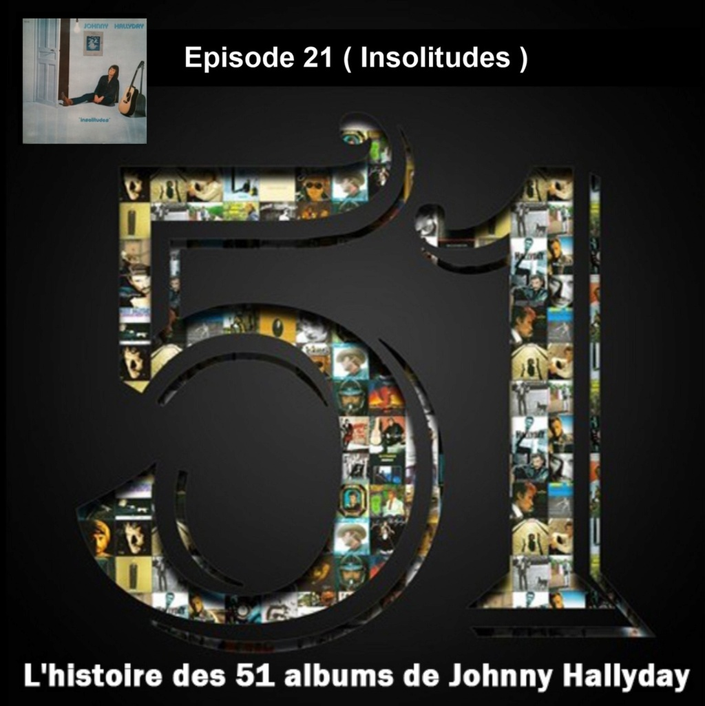 Pochettes CD Recto/Verso des 51 albums de Johnny en Podcast 2019_l63