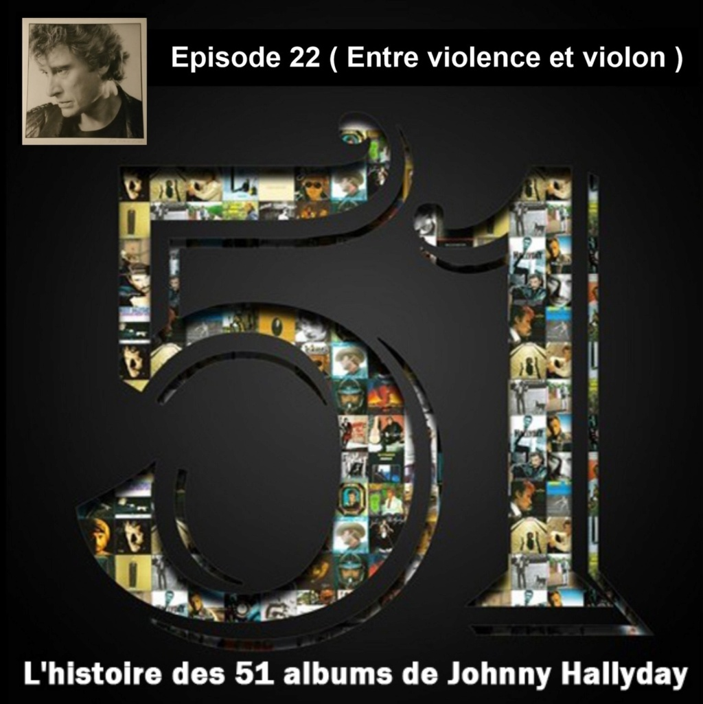 Pochettes CD Recto/Verso des 51 albums de Johnny en Podcast 2019_l65