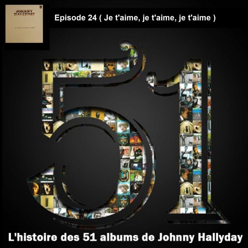 Pochettes CD Recto/Verso des 51 albums de Johnny en Podcast 2019_l69