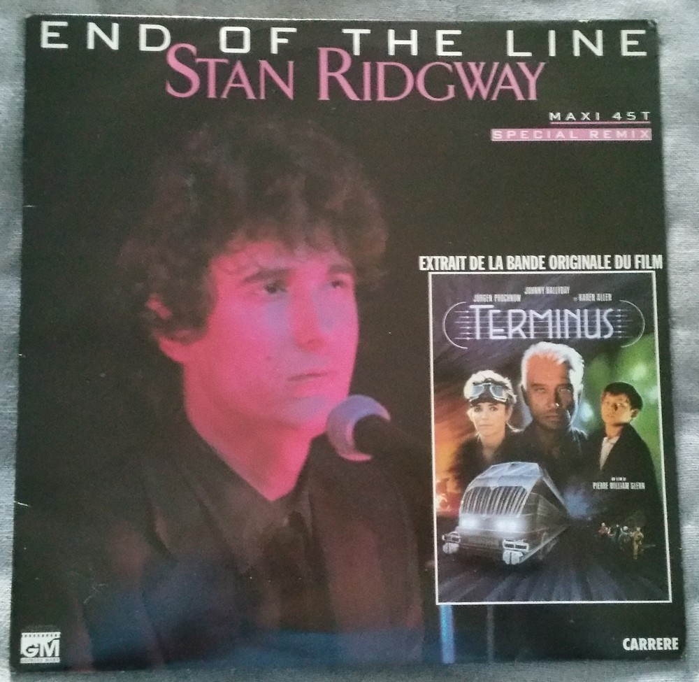 END OF THE LINE ( B.O. DU FILM 'TERMINUS' )( 1986 ) 20200411