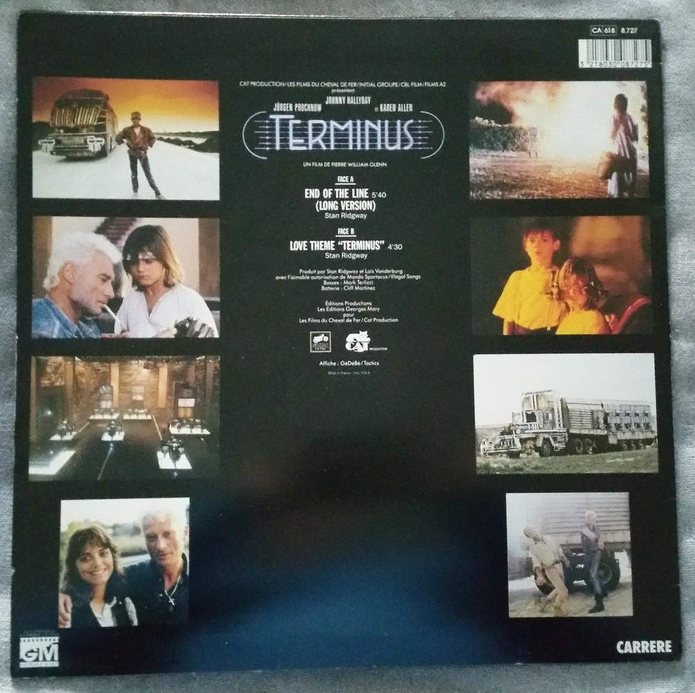 END OF THE LINE ( B.O. DU FILM 'TERMINUS' )( 1986 ) 20200413