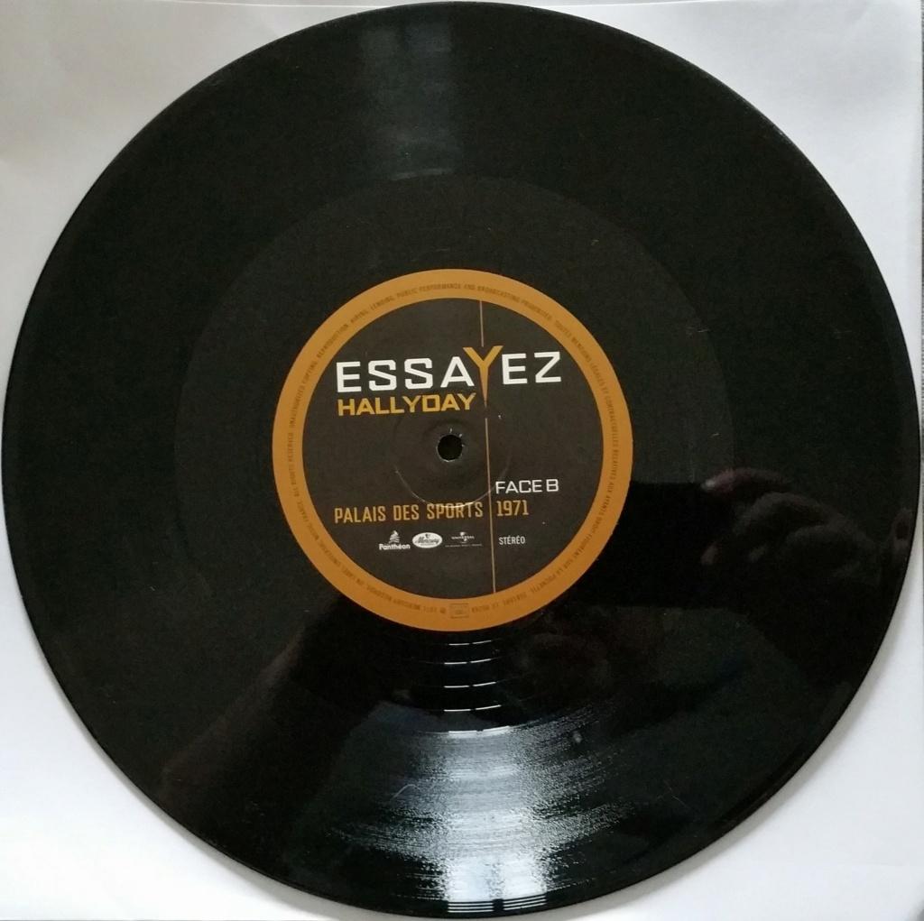 ESSAYEZ ( MAXI 45 TOURS )( FORMAT 25CM )( Nouveauté )( 2021 ) 20200521
