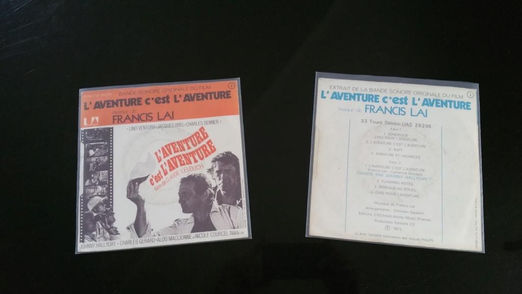 L'AVENTURE C'EST L'AVENTURE ( SP - LP )( TOUTES LES EDITIONS )( 1972-2018 ) 20200742