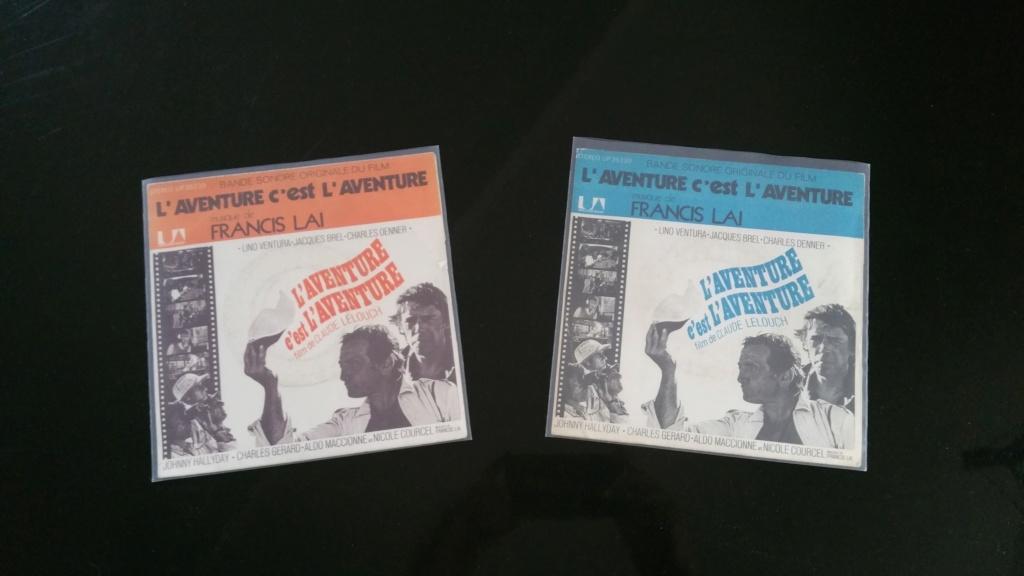 L'AVENTURE C'EST L'AVENTURE ( SP - LP )( TOUTES LES EDITIONS )( 1972-2018 ) 20200743