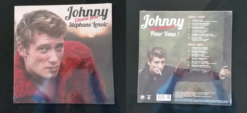 """33 tours """"Johnny chante pour ......."""" édité par LMLR 20201211"""