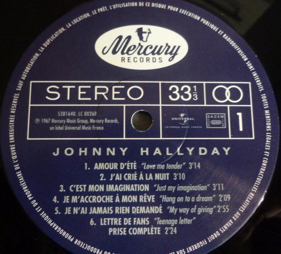 Johnny 67 ( 33 TOURS )( TOUTES LES EDITIONS )( 1967 - 2020 ) 2020_a14