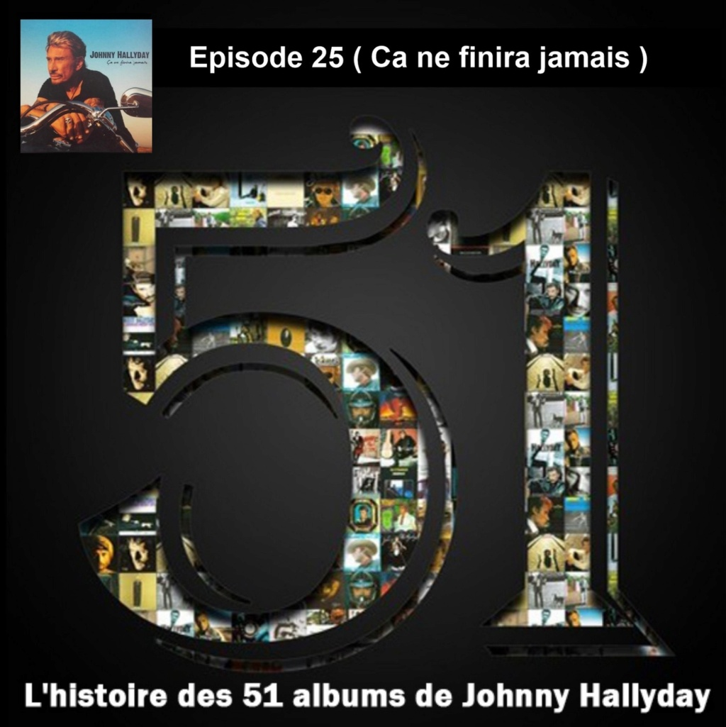 Pochettes CD Recto/Verso des 51 albums de Johnny en Podcast 2020_l10