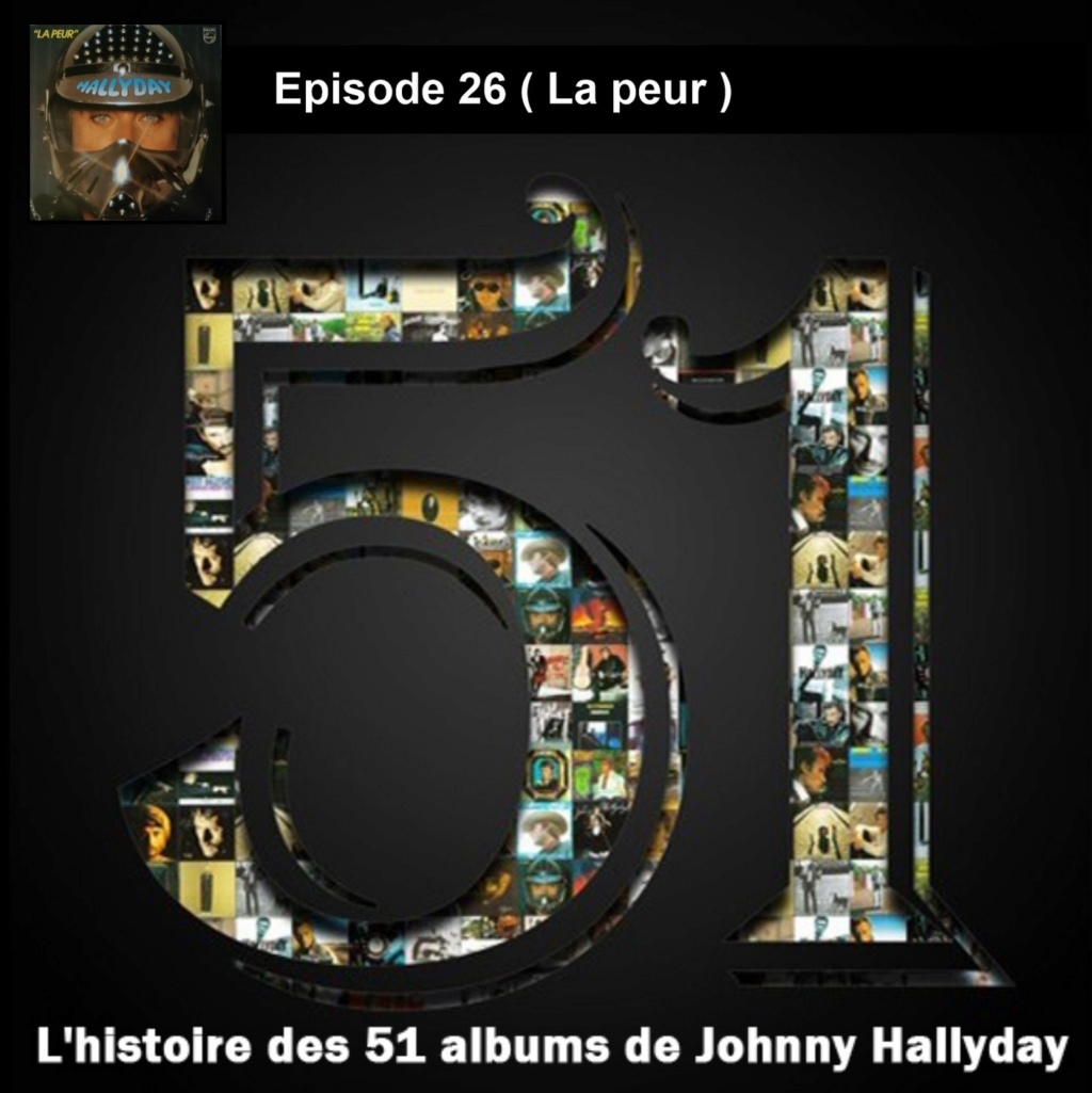 Pochettes CD Recto/Verso des 51 albums de Johnny en Podcast 2020_l12