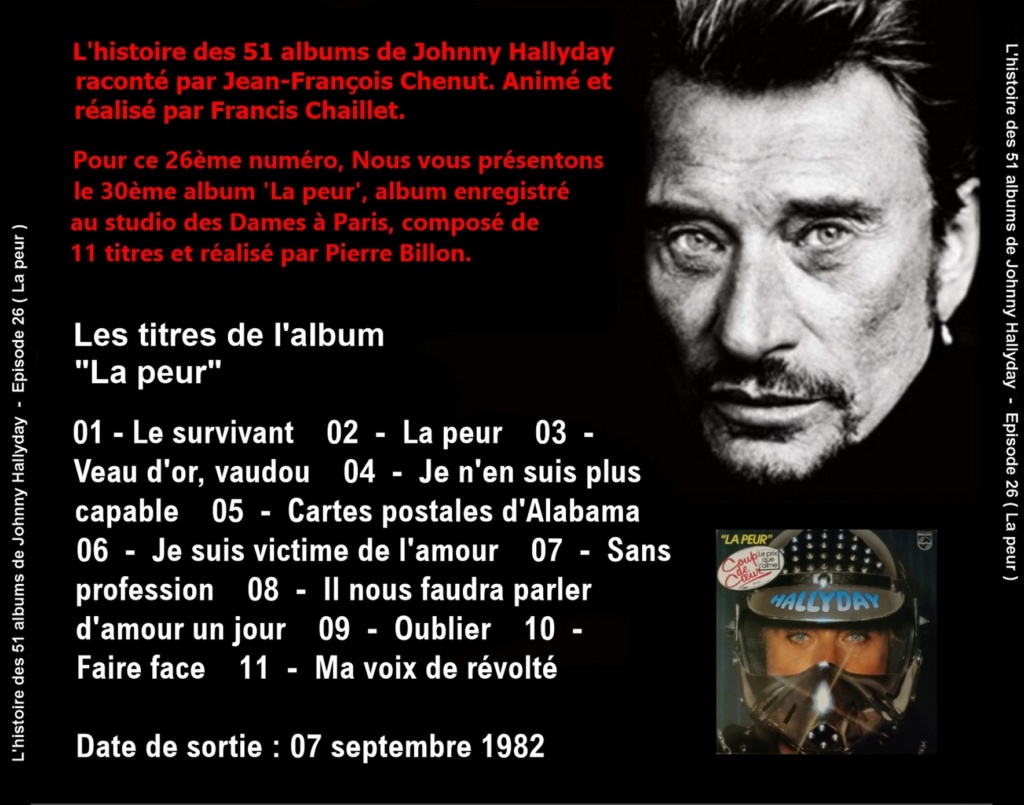 Pochettes CD Recto/Verso des 51 albums de Johnny en Podcast 2020_l13