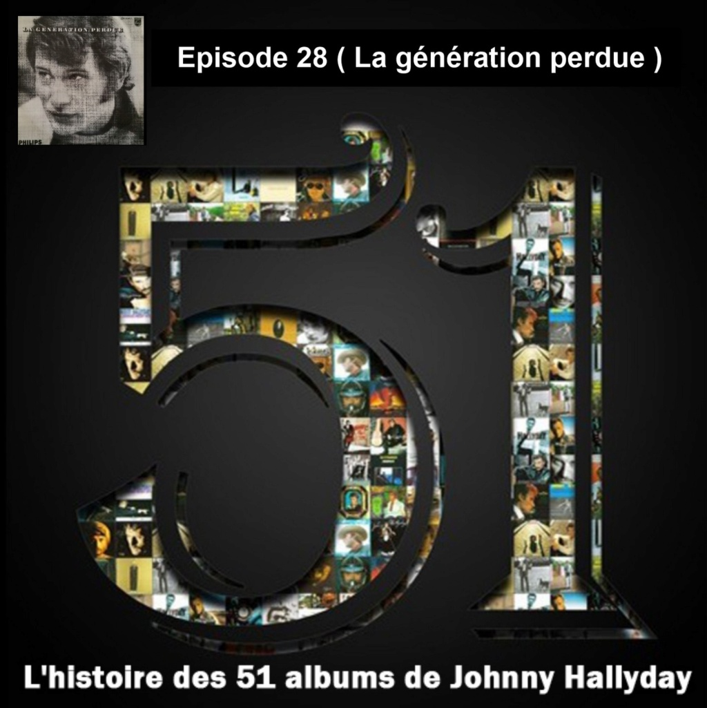 Pochettes CD Recto/Verso des 51 albums de Johnny en Podcast 2020_l16
