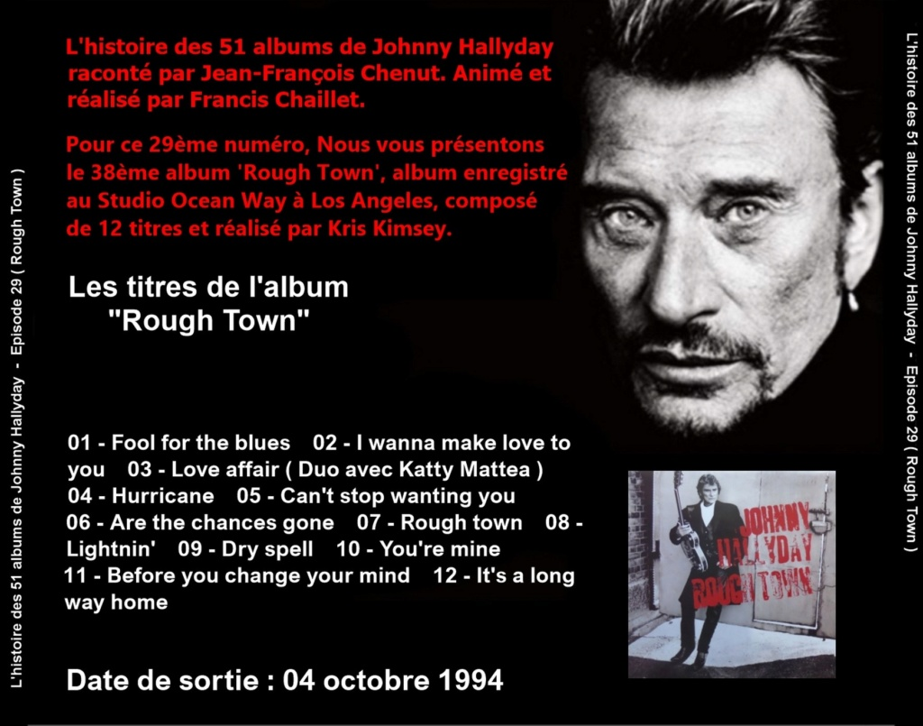 Pochettes CD Recto/Verso des 51 albums de Johnny en Podcast 2020_l19