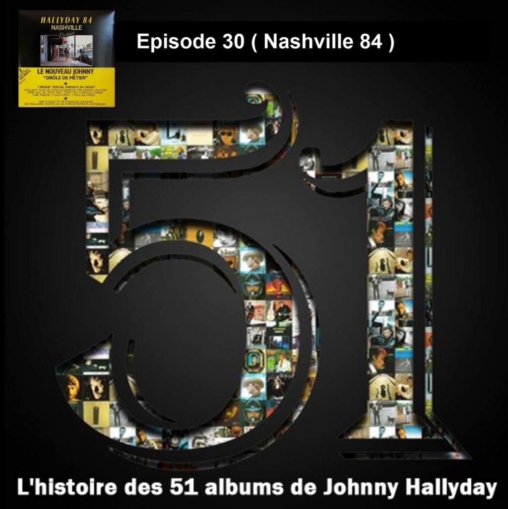 Pochettes CD Recto/Verso des 51 albums de Johnny en Podcast 2020_l21