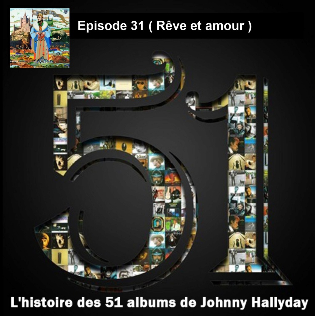 Pochettes CD Recto/Verso des 51 albums de Johnny en Podcast 2020_l25