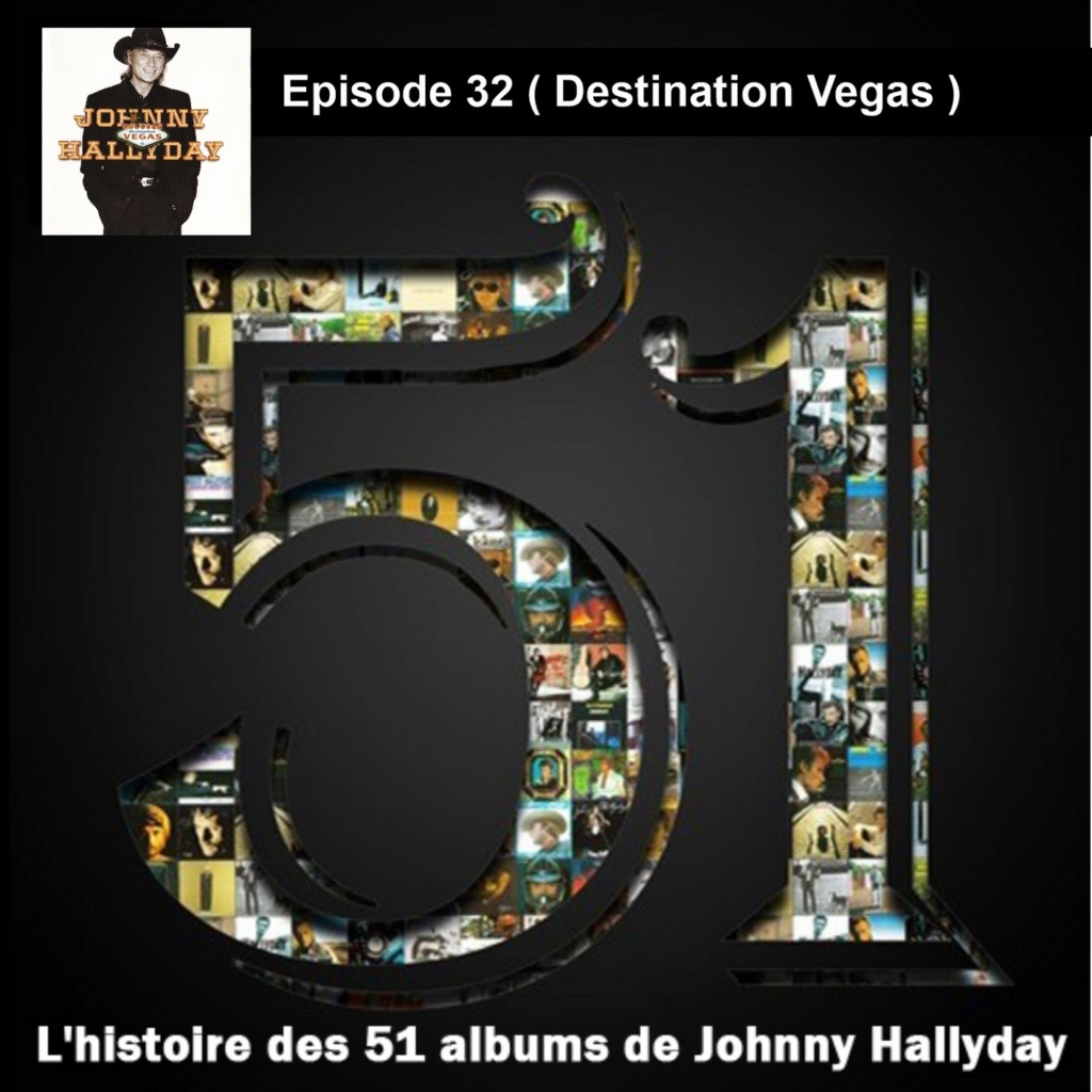 Pochettes CD Recto/Verso des 51 albums de Johnny en Podcast 2020_l27