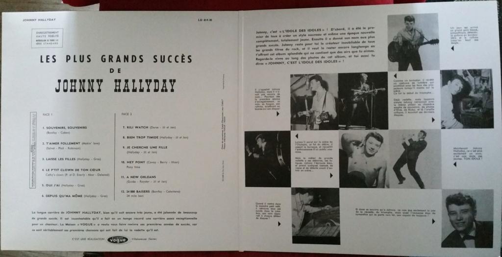 LES PLUS GRANDS SUCCES DE JOHNNY HALLYDAY ( 2 EDITIONS )( 1962-2020 ) 2020_l34