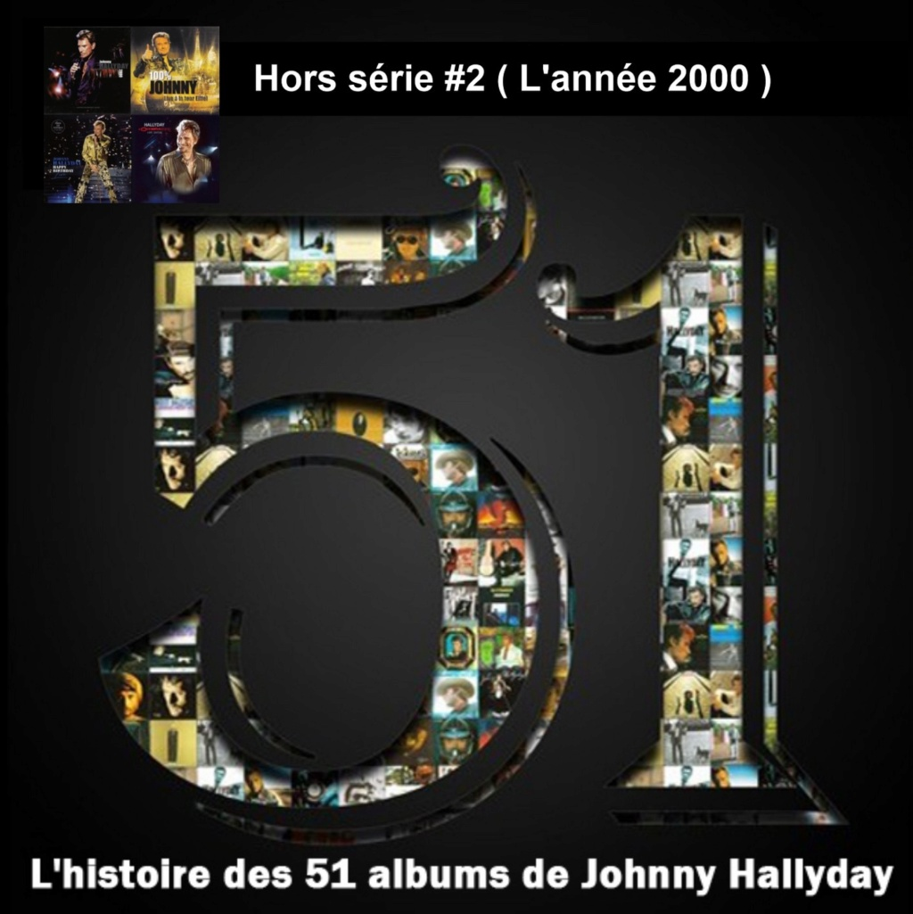 Pochettes CD Recto/Verso des 51 albums de Johnny en Podcast 2020_l38