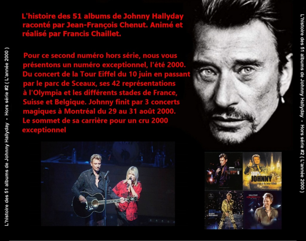 Pochettes CD Recto/Verso des 51 albums de Johnny en Podcast 2020_l39