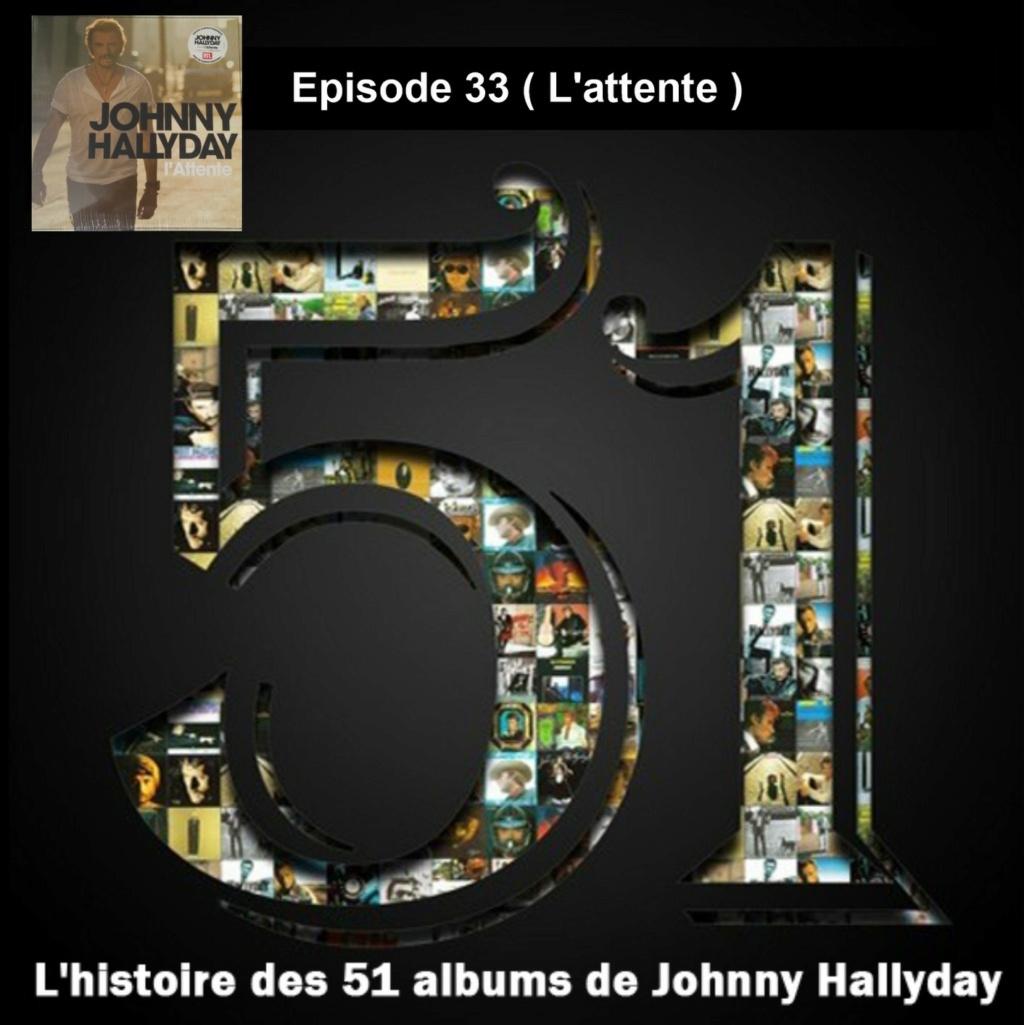 Pochettes CD Recto/Verso des 51 albums de Johnny en Podcast 2020_l40