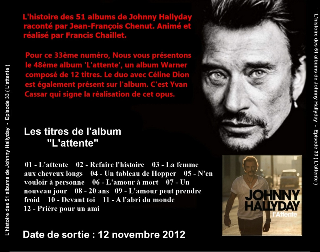 Pochettes CD Recto/Verso des 51 albums de Johnny en Podcast 2020_l44