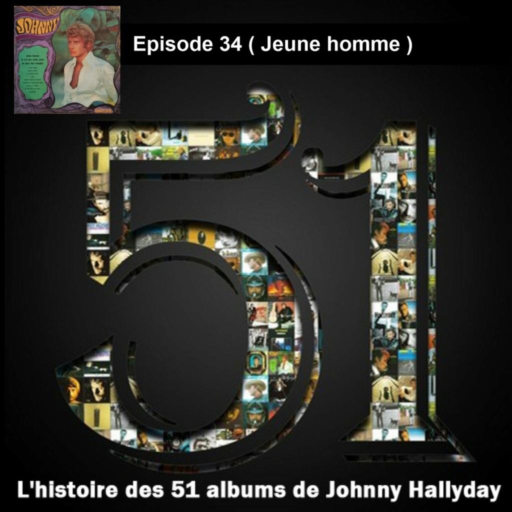 Pochettes CD Recto/Verso des 51 albums de Johnny en Podcast 2020_l45