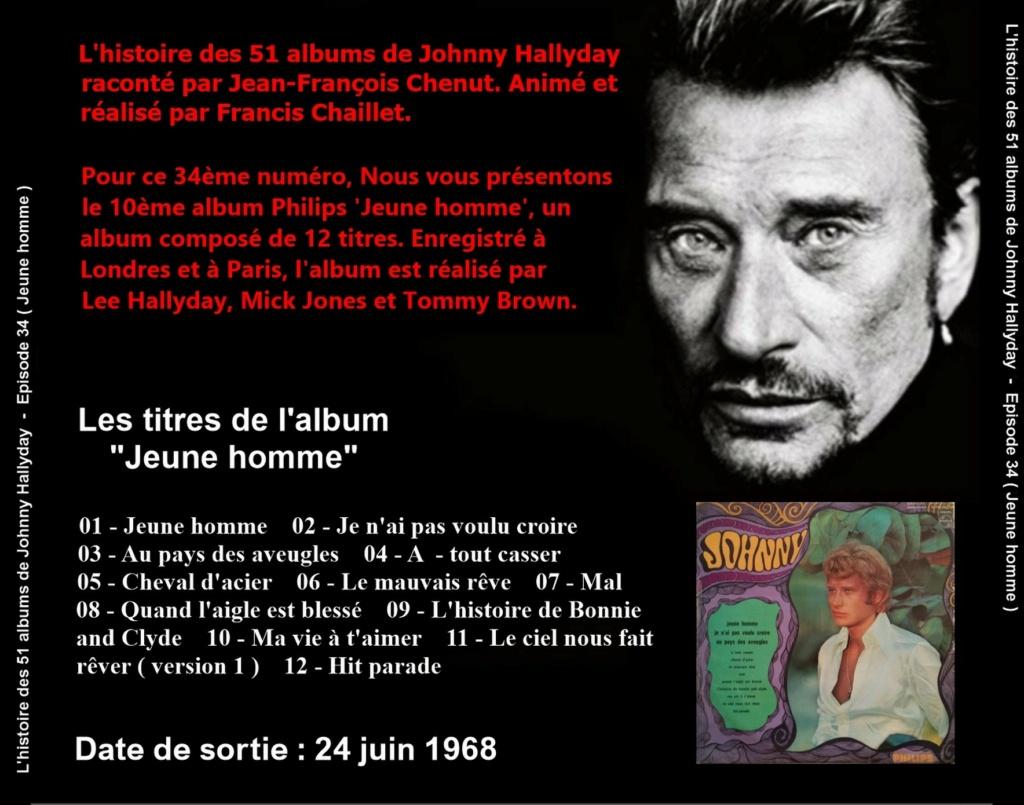 Pochettes CD Recto/Verso des 51 albums de Johnny en Podcast 2020_l46