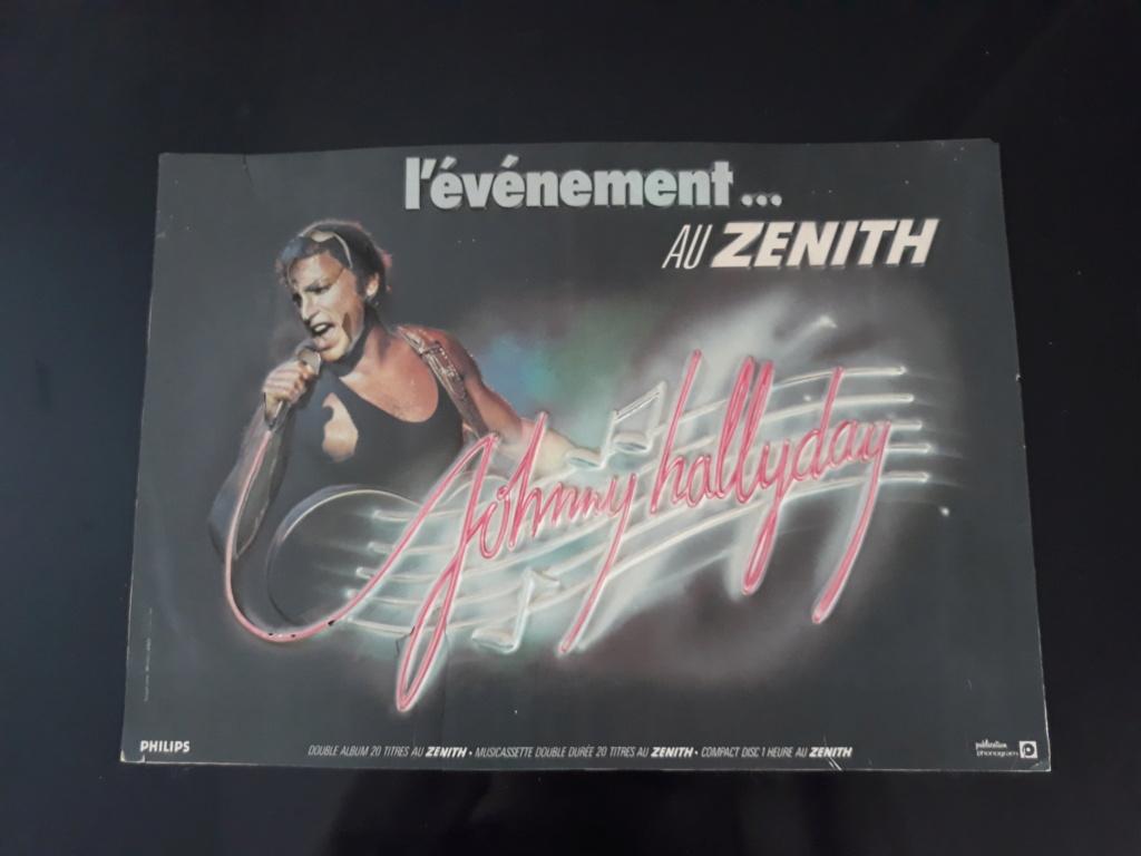 LES CONCERTS DE JOHNNY 'ZENITH 1985' ( JANVIER )( INEDIT ) 20210610