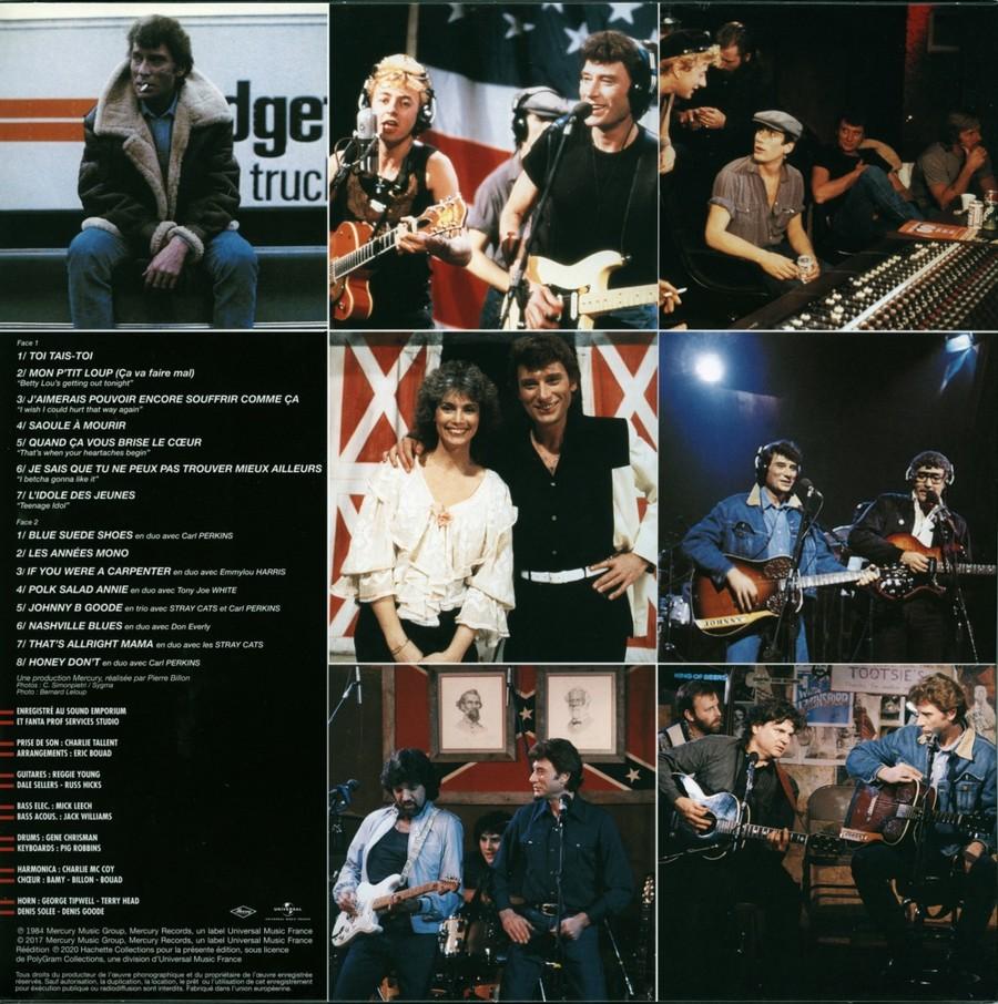 HALLYDAY 84 'NAHSVILLE'  ( 33 TOURS 30CM )( TOUTES LES EDITIONS )( 1984 - 2021 ) 2021_n20