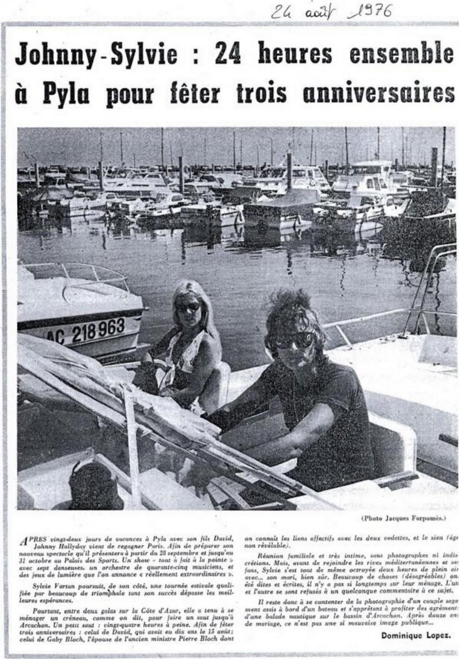 LES BATEAUX DE JOHNNY HALLYDAY 'BERTRAM' ( 1975 ) 24-aou11