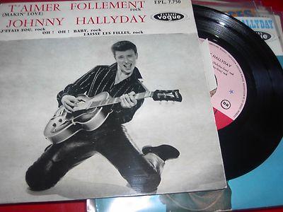 T'aimer follement ( EP 45 TOURS )( TOUTES LES EDITIONS )( 1960 - 2019 ) 35083010