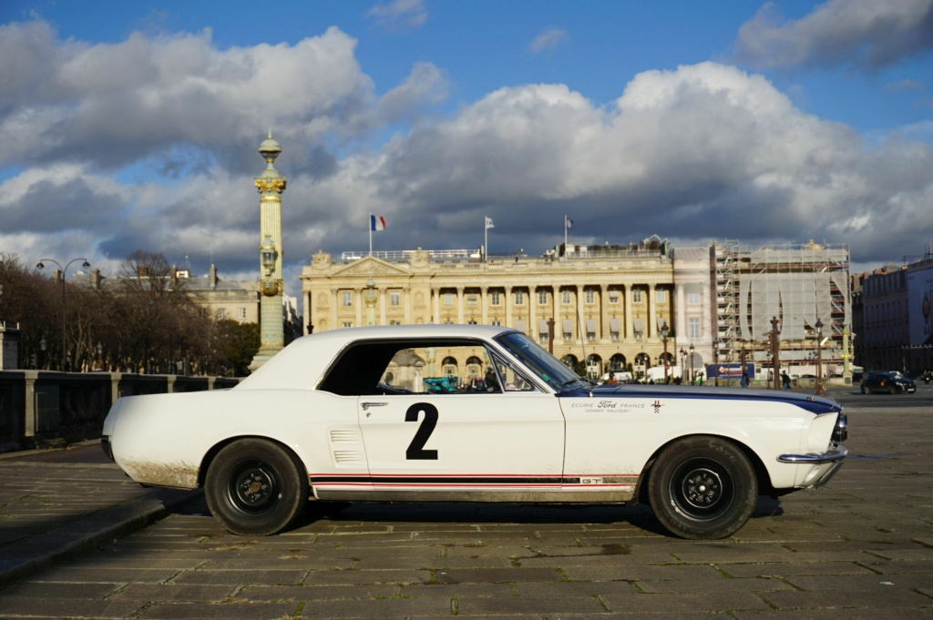 FORD MUSTANG GT 390 COUPE DE JOHNNY HALLYDAY ( 1967 ) 3980_131