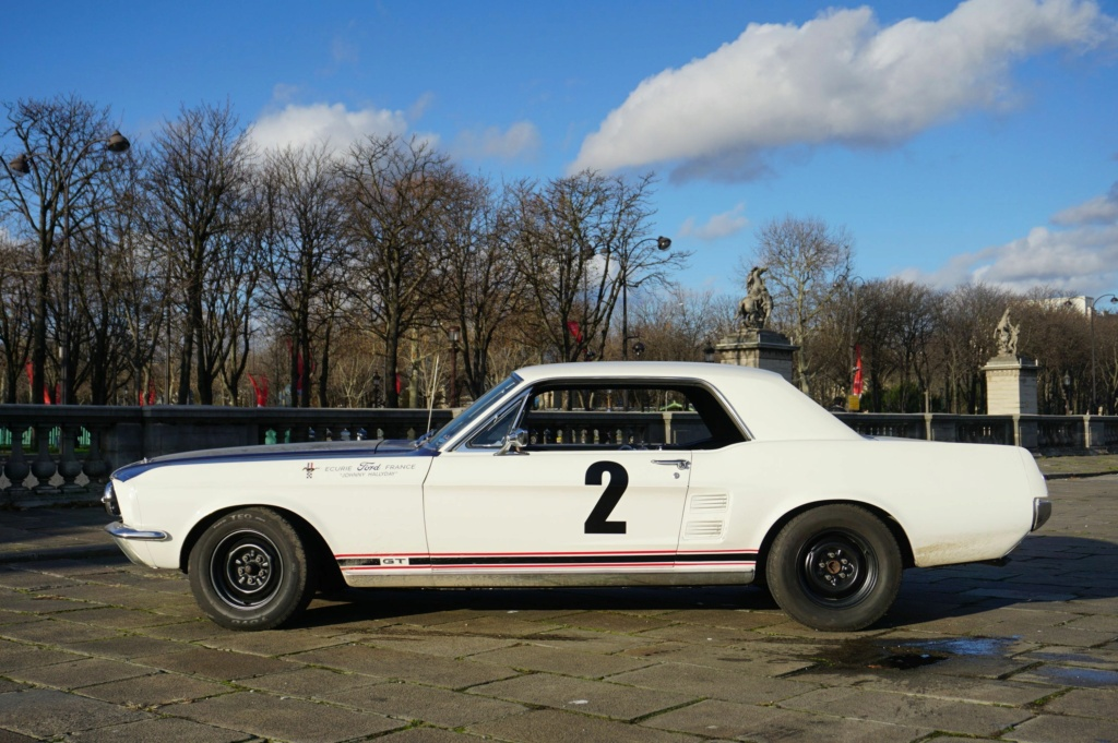 FORD MUSTANG GT 390 COUPE DE JOHNNY HALLYDAY ( 1967 ) 3980_132