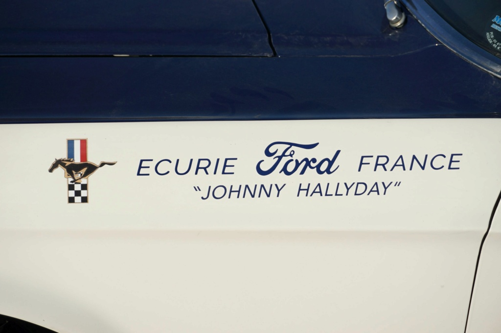 FORD MUSTANG GT 390 COUPE DE JOHNNY HALLYDAY ( 1967 ) 3980_133