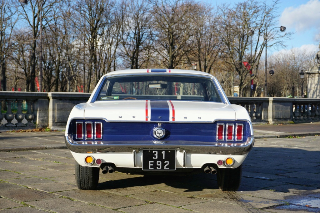 FORD MUSTANG GT 390 COUPE DE JOHNNY HALLYDAY ( 1967 ) 3980_140
