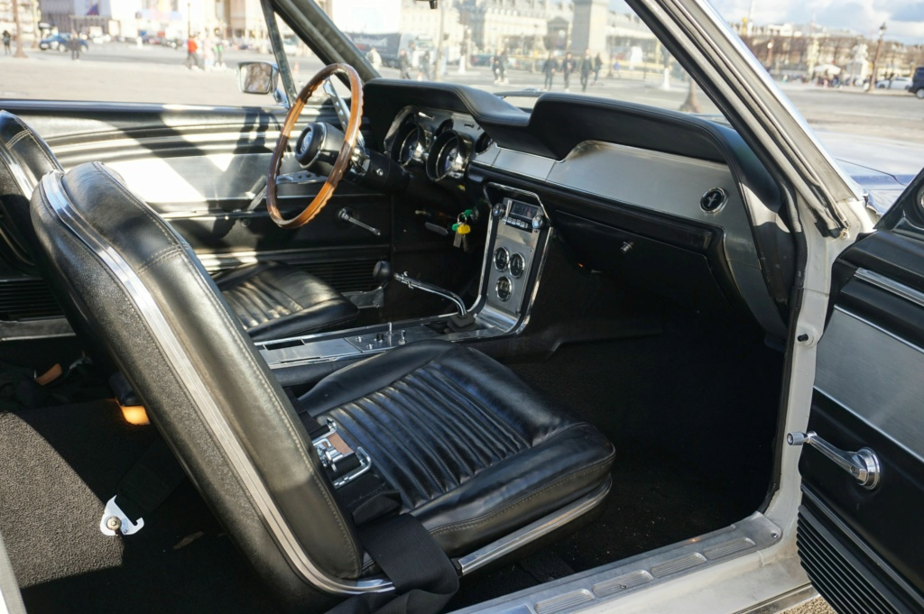FORD MUSTANG GT 390 COUPE DE JOHNNY HALLYDAY ( 1967 ) 3980_141