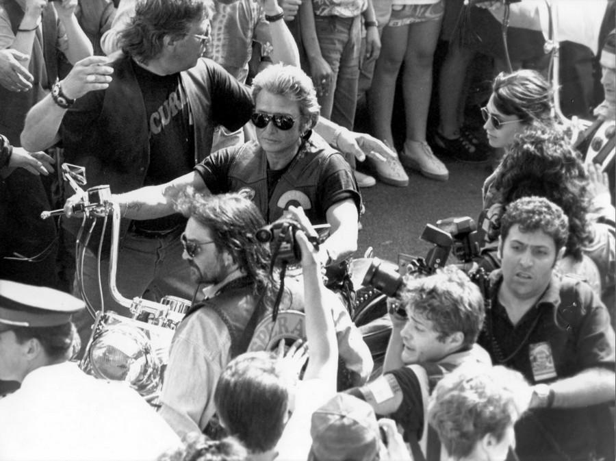 LES CONCERTS DE JOHNNY 'CARPENTRAS, 1994' 4-juin10