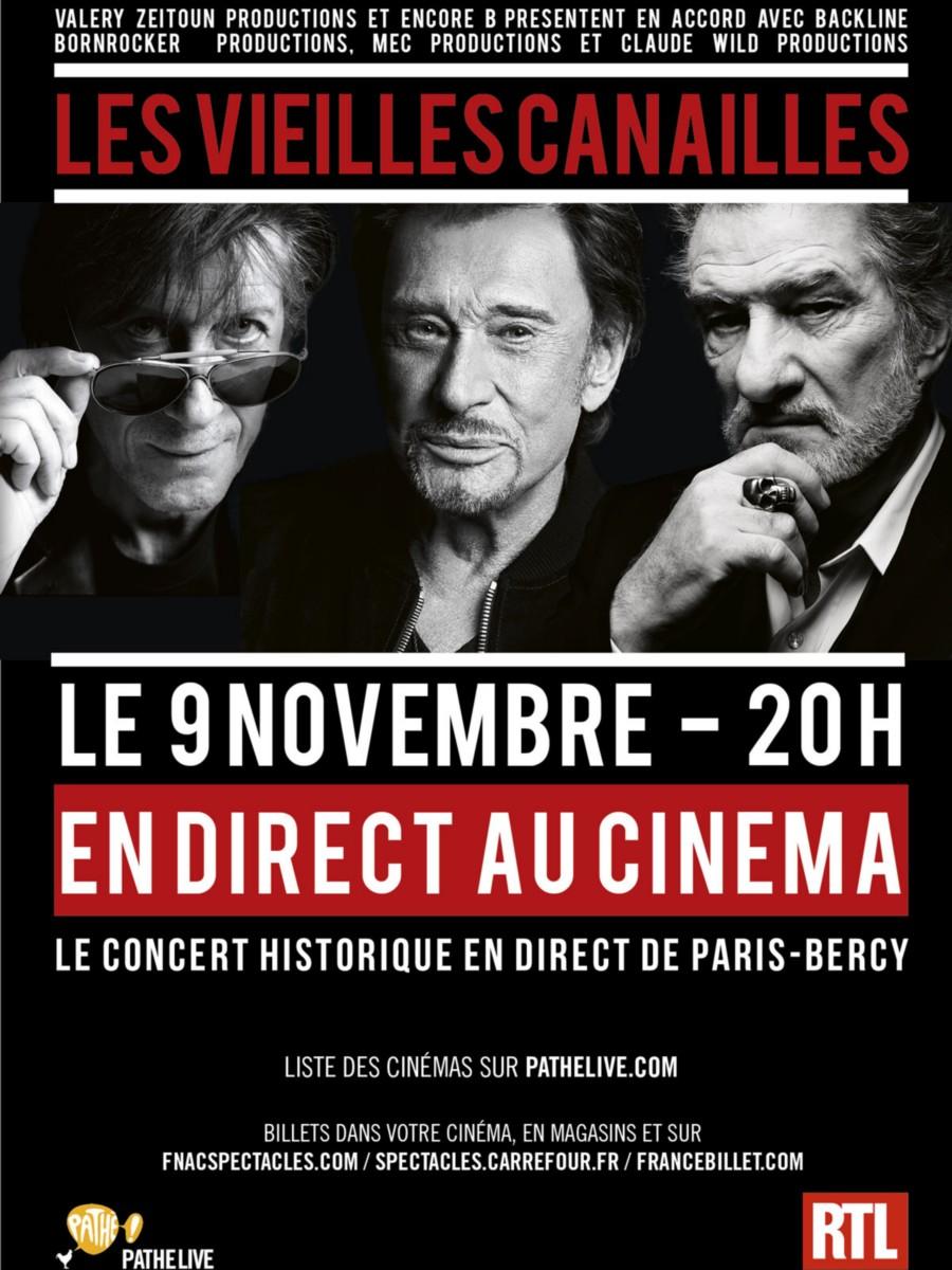 LES CONCERTS DE JOHNNY 'LES VIEILLES CANAILLES - 'PARIS 2014' 549110