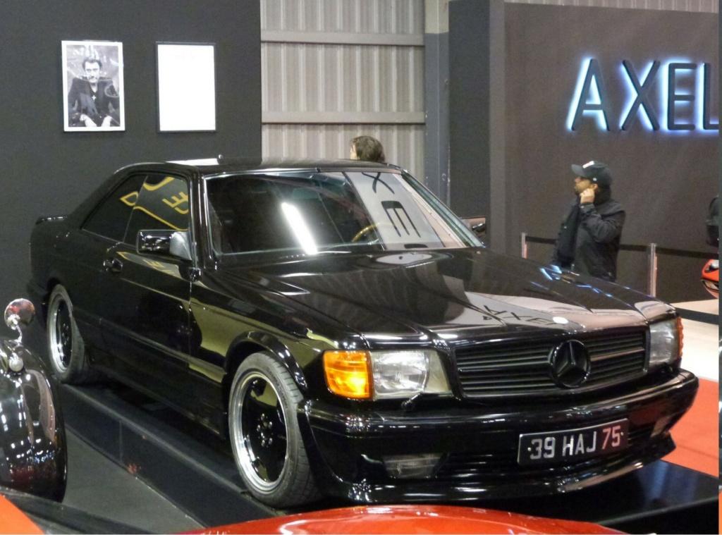 MERCEDES 560 SEC AMG DE JOHNNY HALLYDAY ( 1988 ) 5a1a4e10
