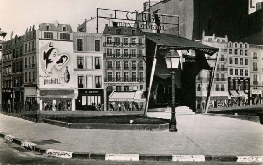 LES CONCERTS DE JOHNNY 'AU VIEUX COLOMBIER, JUAN LES PINS 1960' 604_0011