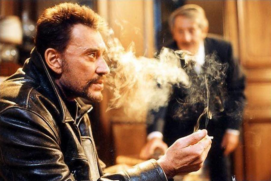 LES FILMS DE JOHNNY 'L'HOMME DU TRAIN' 2002 7-homm11